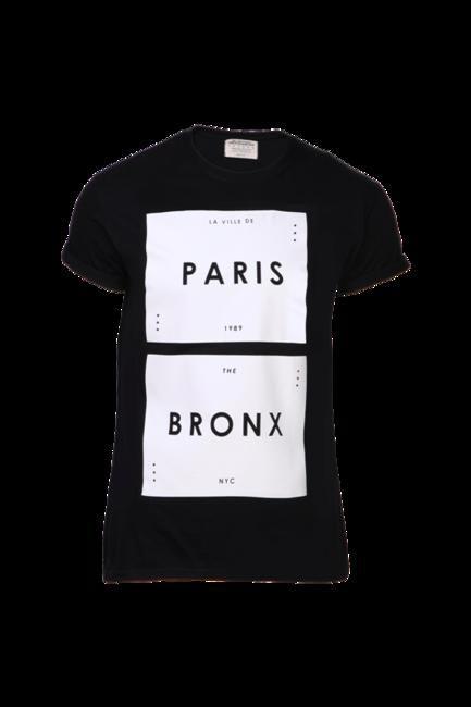 Black Round Neck T-Shirt, Burton, INR 1350