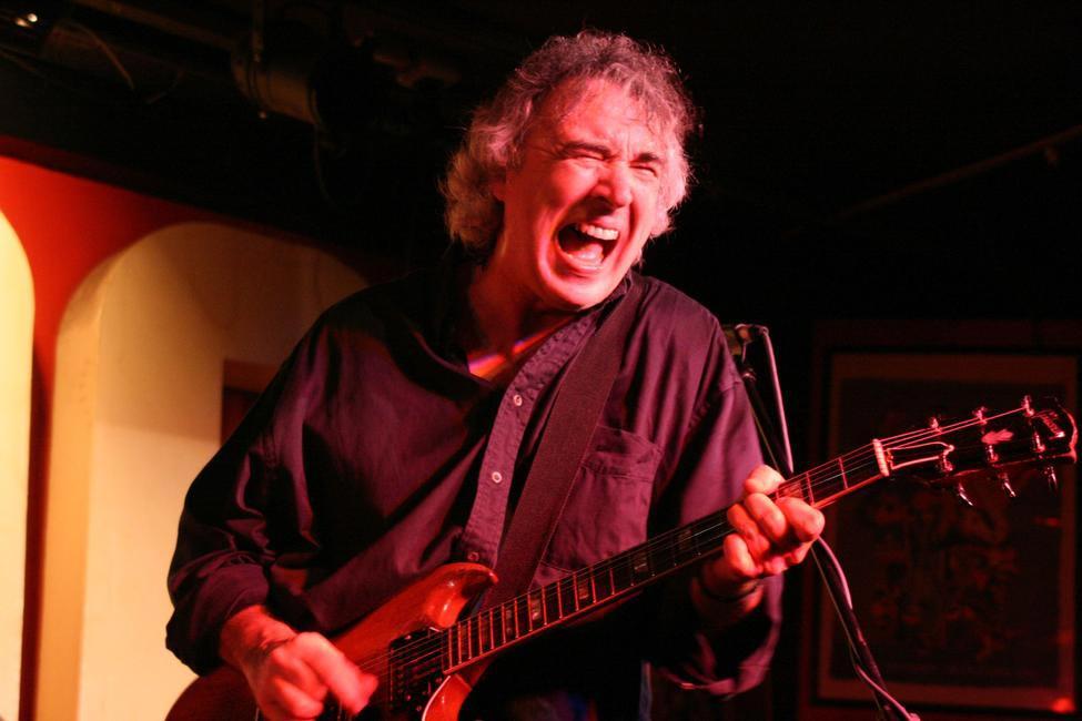 British Guitarist, Mick Clarke