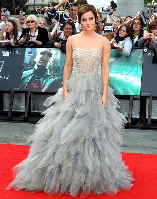 Emma Watson at the Harry Potter and the Deathly Hollows premier