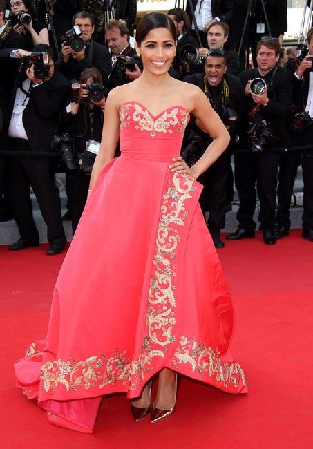Freida Pinto at the Cannes 2014 Film Festival