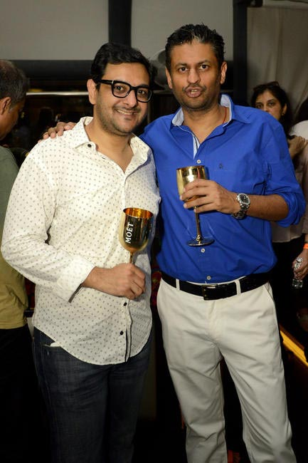 Gaurav Bhatia, Marketing Director, Moet Hennessy India & Jay Singh, JSM Corp