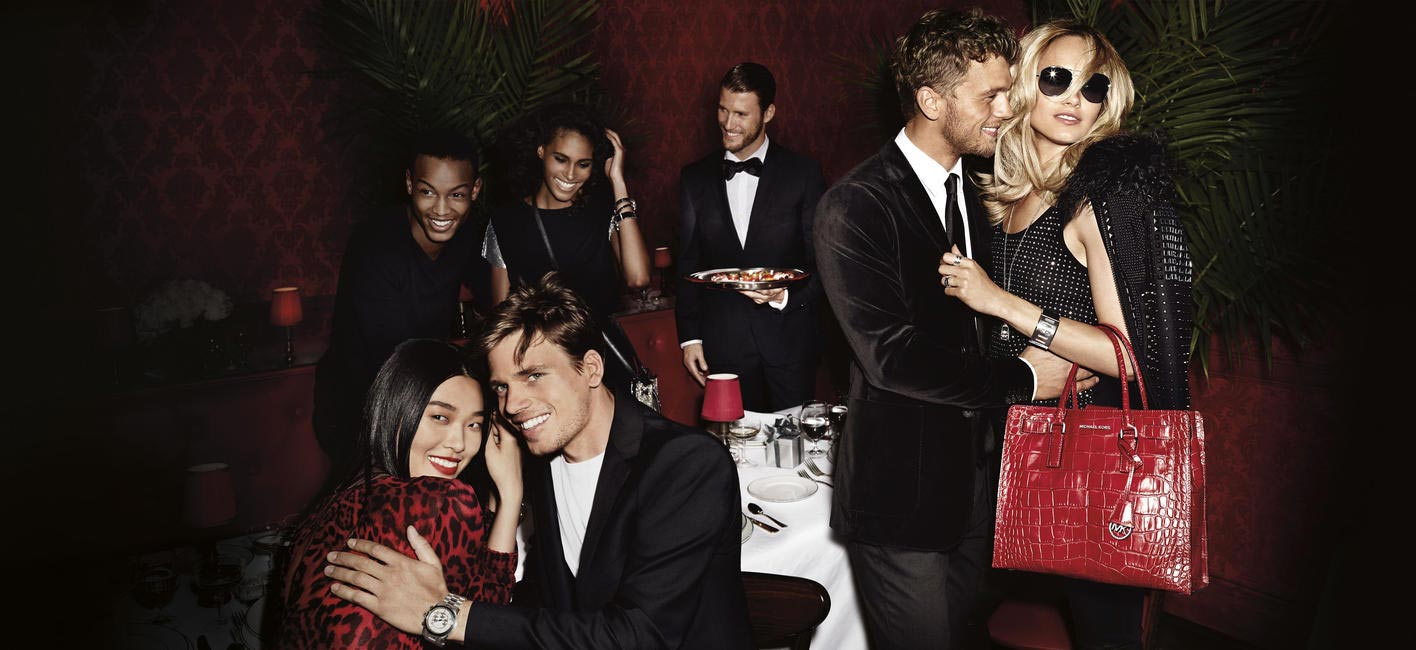 Holiday ad campaign by Michael Kors