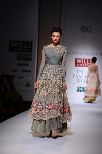 Kavita Bhartia at Wills Lifestyle SS 2015