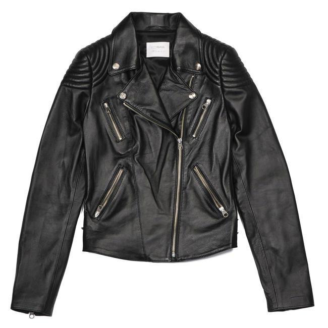 Merida Leather Biker Jacket