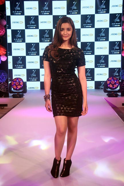 Alia Bhatt launching was the showstopper for her first fashion line for Jabong.com