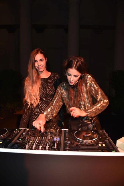 Amber Le Bon and Emilie Fouilloux