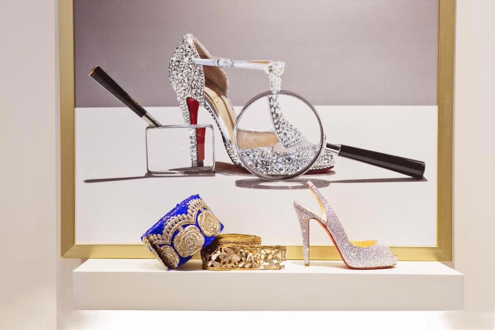 Embellished heels, Chistian Louboutin