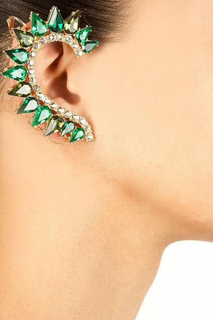Emerald Statement Cuff, Bansri, INR 2,800