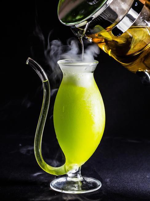 Futuristic beverages at Gaggan