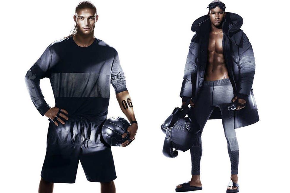 Real life athletes for Alexander Wang x H&M