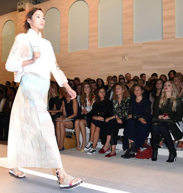 The FROW at Fendi's S_S 2015 show