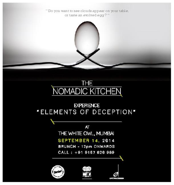 The Nomadic Kitchen is hosting their first pop up at The White Owl
