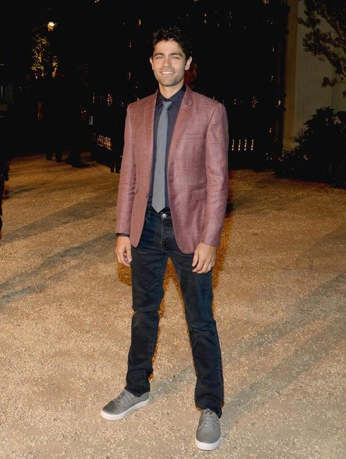 Adrian Grenier at the Burberry London in Los Angeles event