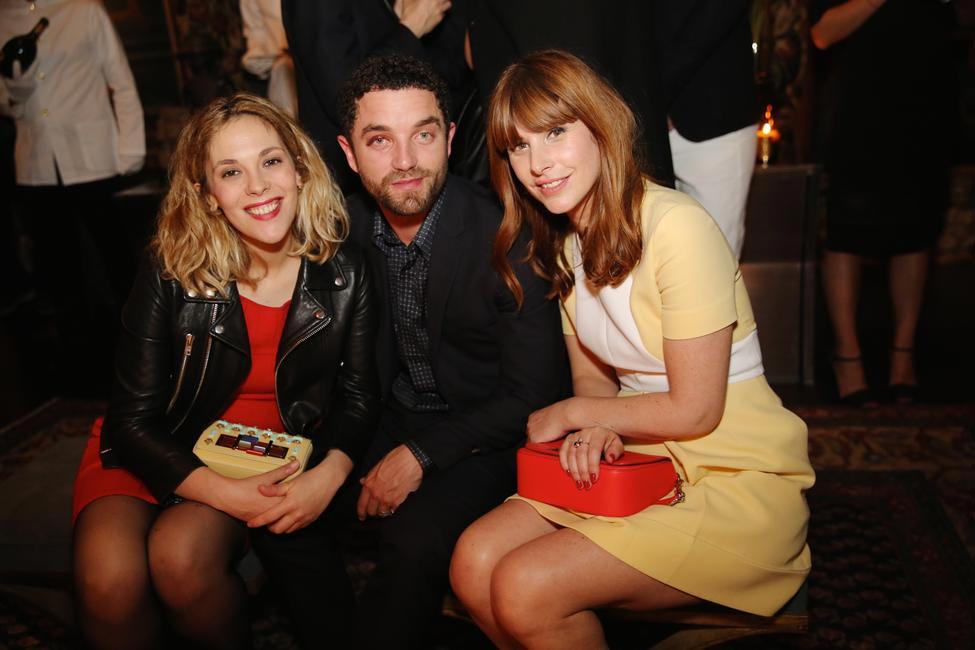 Alysson Paradis , Guillaume Gouix & Cecile Togni at the Fendi dinner