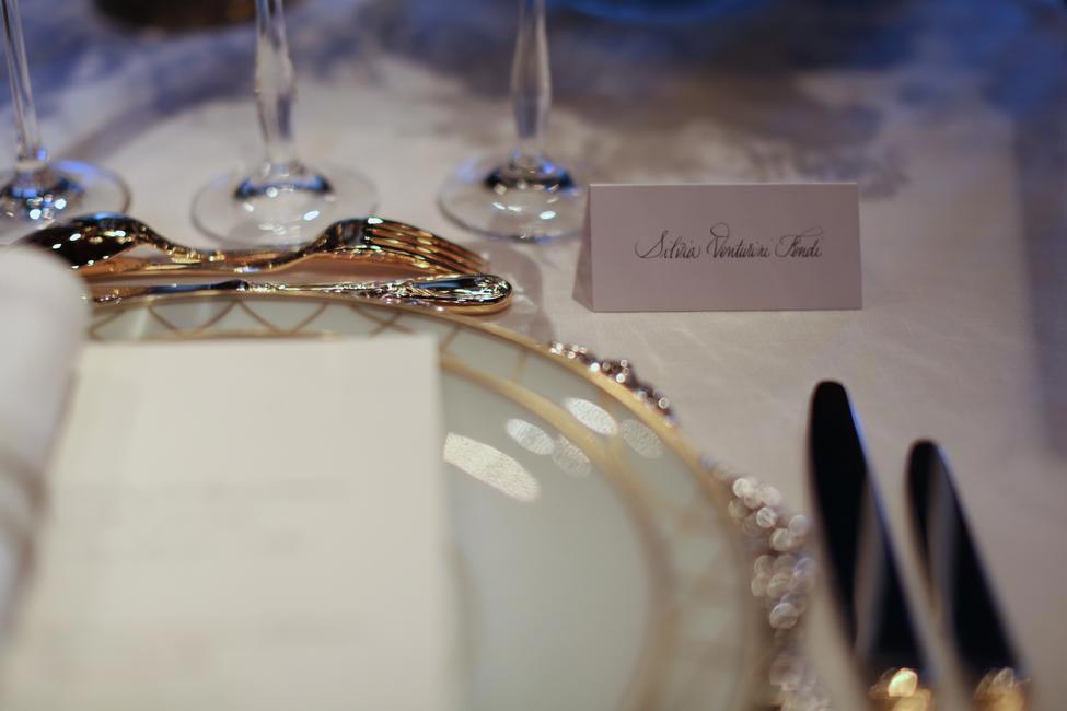 Fendi Dinner celebrating the new Menswear boutique in Paris