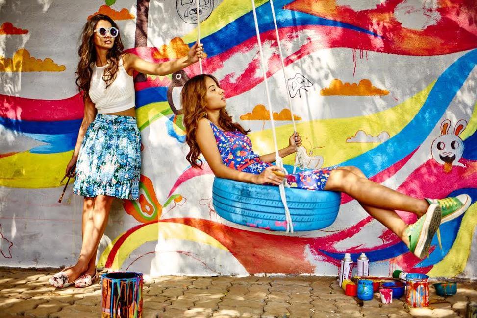 Global desi's brand new Resort 2015 Campaign