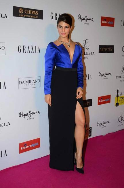 Jacqueline Fernandez in Armani-Privé