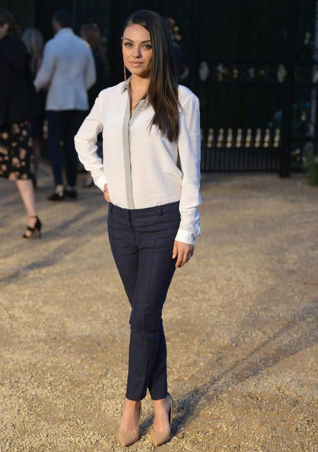 Mila Kunis at the Burberry London in Los Angeles event.