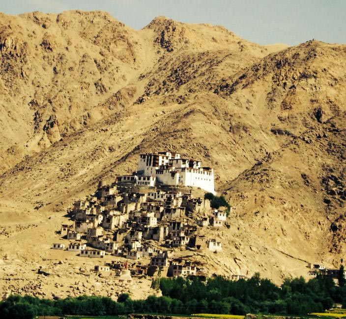 One of the monasteries Amrita came across while on her trip, this one being in Ladakh