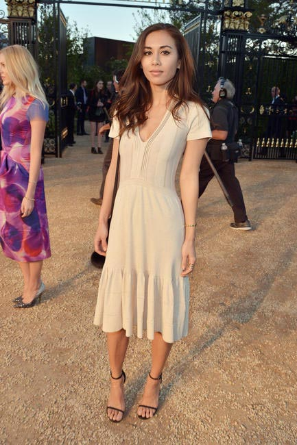 Rumi Neely at the Burberry London in Los Angeles event