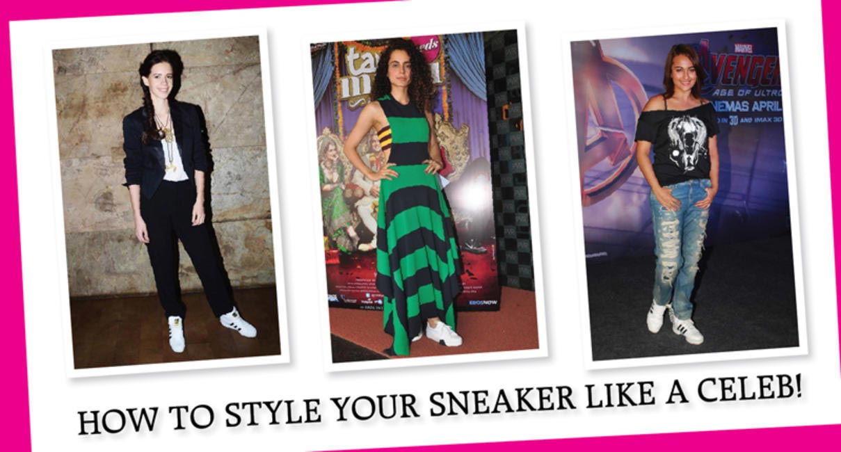 Style Your Sneaker like a celeb
