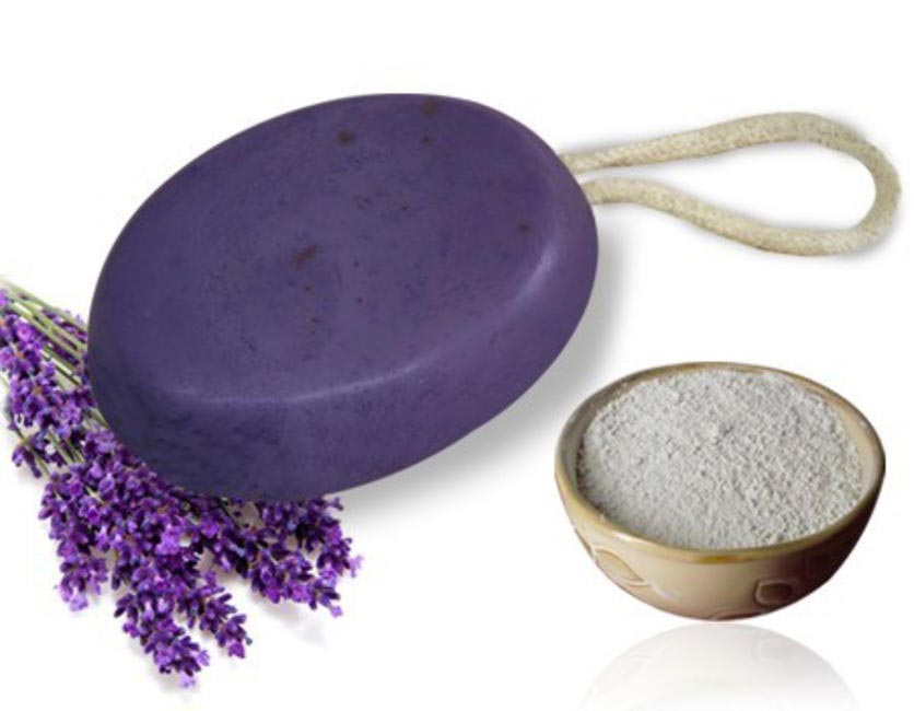 2 Vert Lavender and Clay soap, Price on request