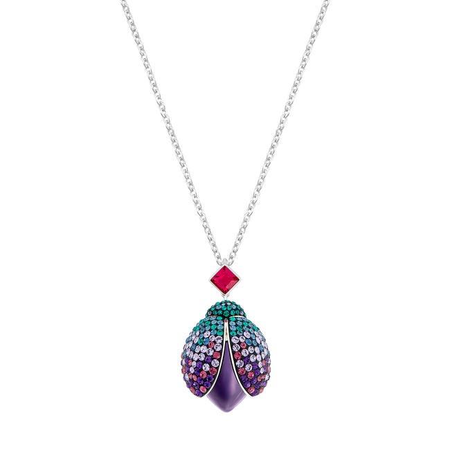 Bug necklace, Swarovski