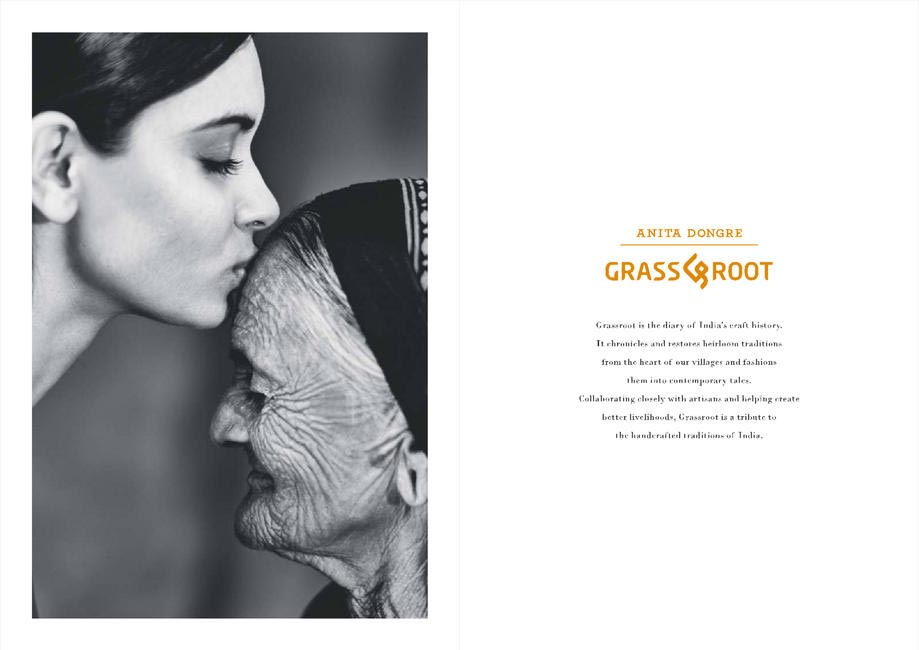Diana Penty and Bhachiben Bhurabhai for Grassroot