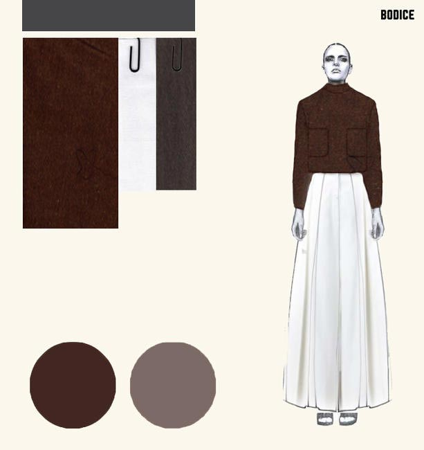 Illustration of the Bodice Colection