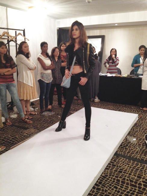 Model styled by Shilpa Chavan for Baggit