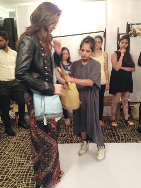 Shilpa Chavan working her magic