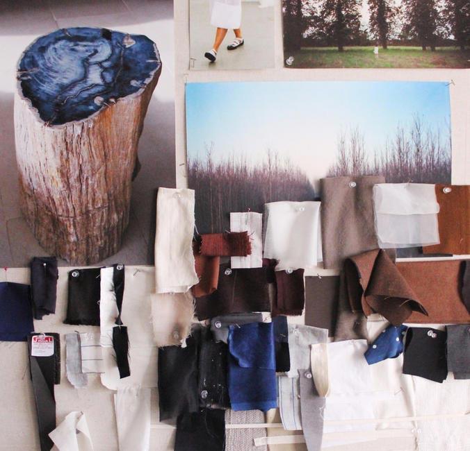 The Bodice Fabric Board