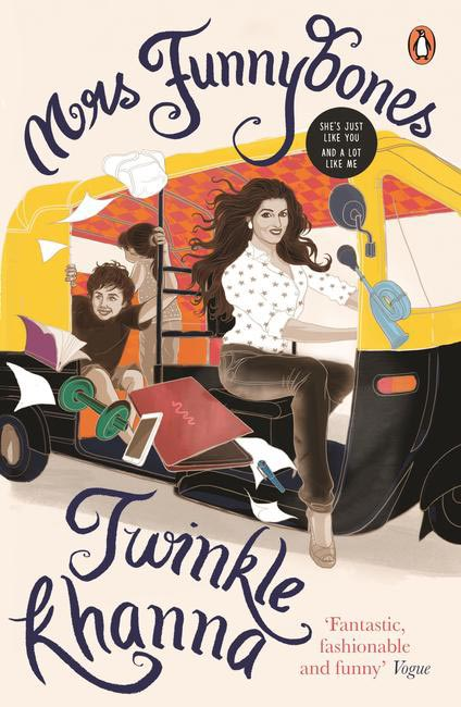 Twinkle Khanna's debut book Mrs.Funnybones