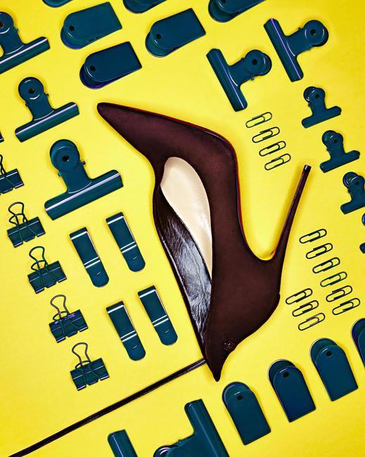 'Vampydoly' ankle-detail stilettos, Christian Louboutin, Rs 75,000