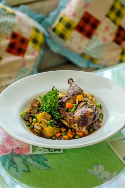 House Spice Roasted Chicken with Xmas Stuffing at Smoke House Deli