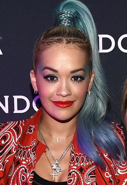 Rita Ora debuts her mermaid hair