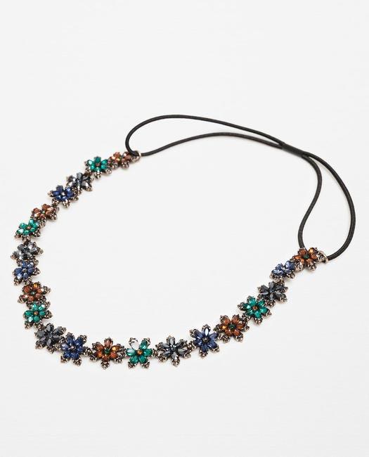 Zara Colourful Floral Hairband INR590