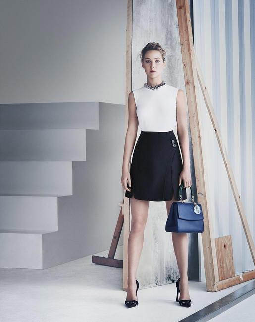 Jennifer Lawrence for Be Dior