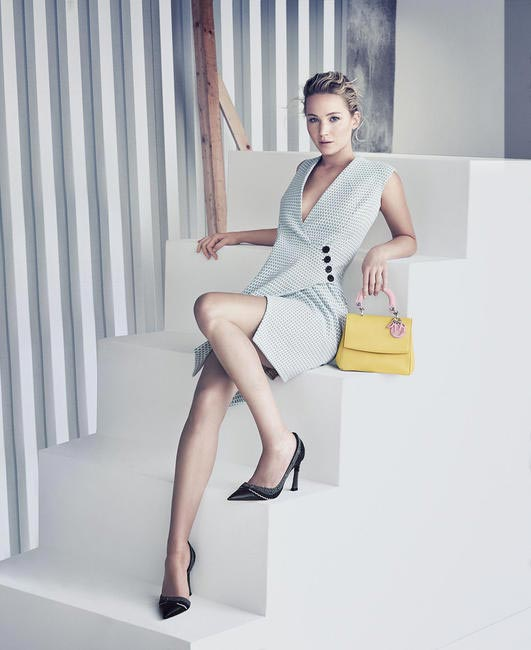 Jennifer Lawrence stars in the Be Dior campaign