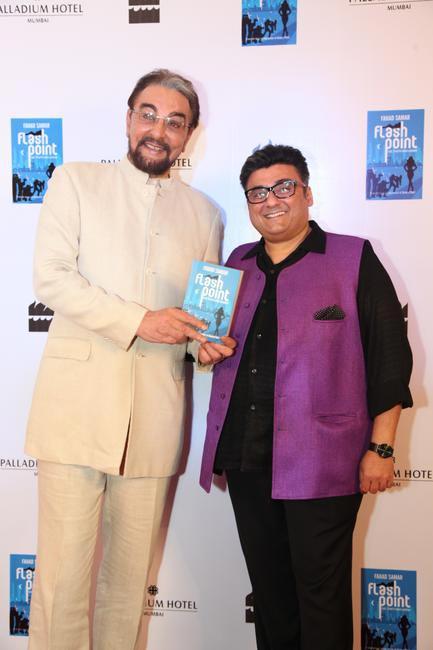 Kabir Bedi and Fahad Samar