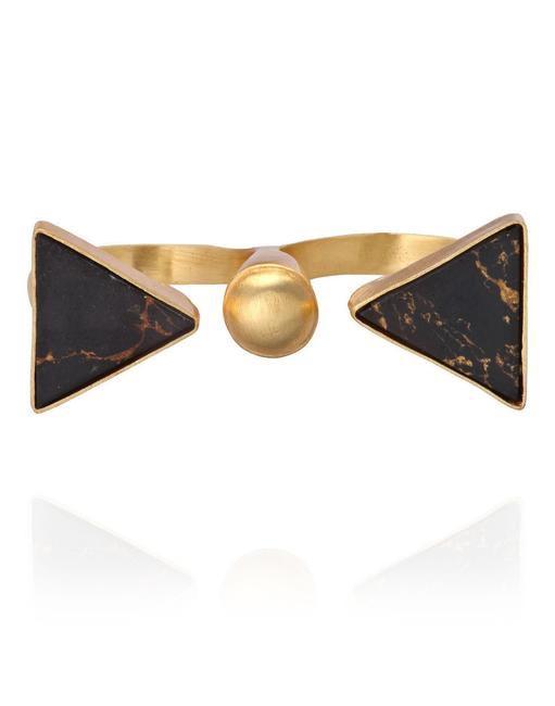 Two Finger Triangle Ring, Eesha Zaveri, INR 2,000