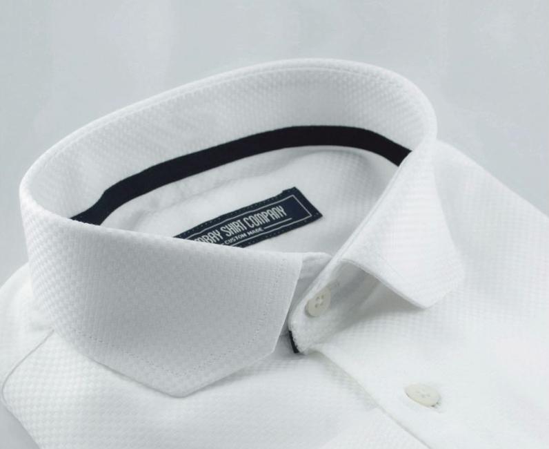 White Dobby 'Will Stillspeare' shirt, Rs. 2,800, bombayshirts.com
