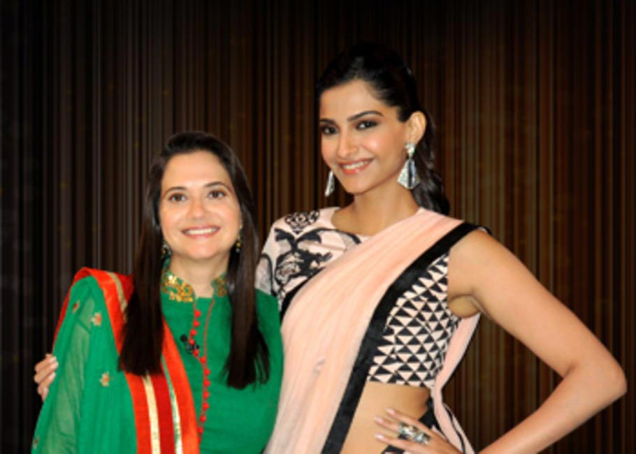 Anupama Chopra and Sonam Kapoor