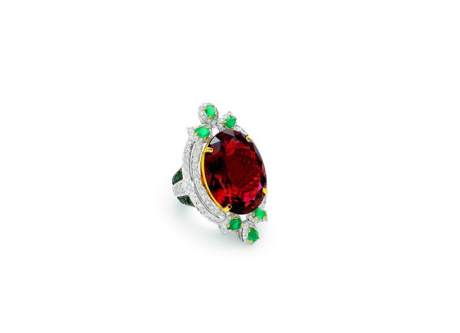Cocktail Ring, Ghanasingh Be True, Price on Request