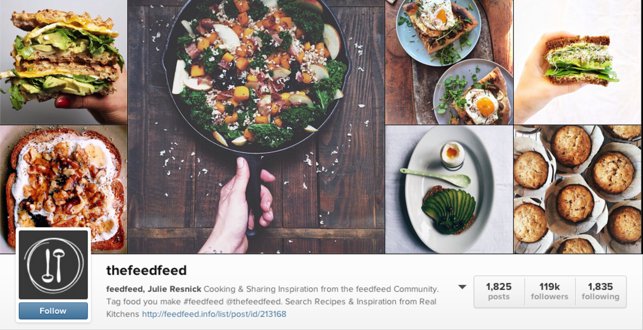 If there were a heaven for foodies, @thefeedfeed would be it. jpg