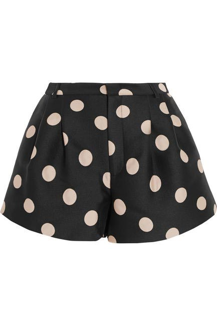 Satin shorts, Red Valentino at netaporter.com, Rs 28,000