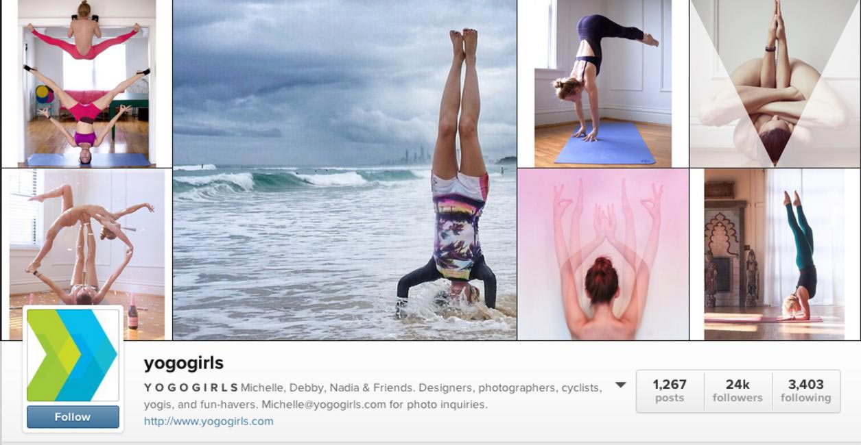 The Yogo Girls inspire with postcard-perfect poses and postures
