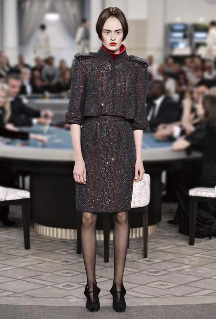 Chanel completely reinventing the iconic design with 3D suits