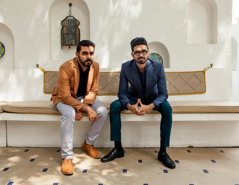 Designer duo Shivan Bhatiya and Narresh Kukreja