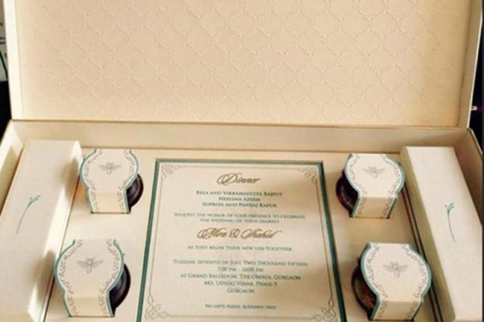The stunning wedding invite